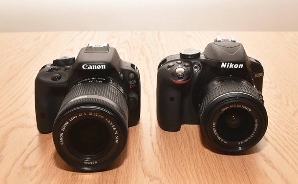 CanonとNikon 夜景の撮り方