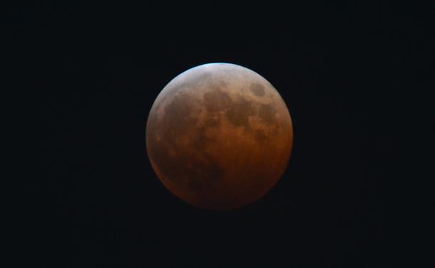 成功した月撮影