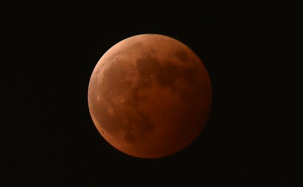 吉野の撮影した皆既月食