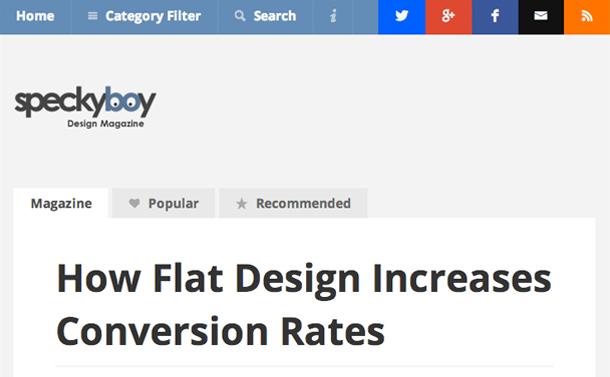 コンバージョン率が改善された実例から学ぶフラットデザインの効果的な使い方