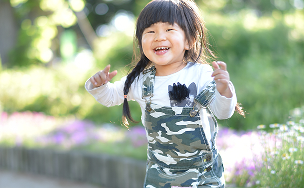 ニコン 58mm f1.4 子供写真