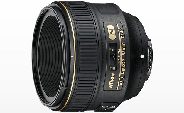 ニコン 単焦点レンズ AF-S NIKKOR 58mm f1.4G