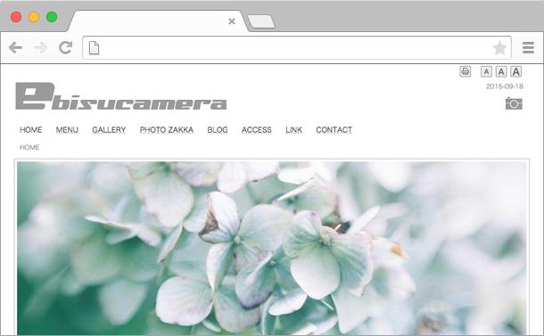 エビスプリントWebサイト